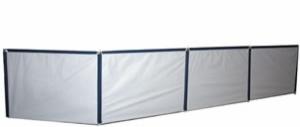 Leskjerm blå/grå m vinduer  600x135 bilde thumb